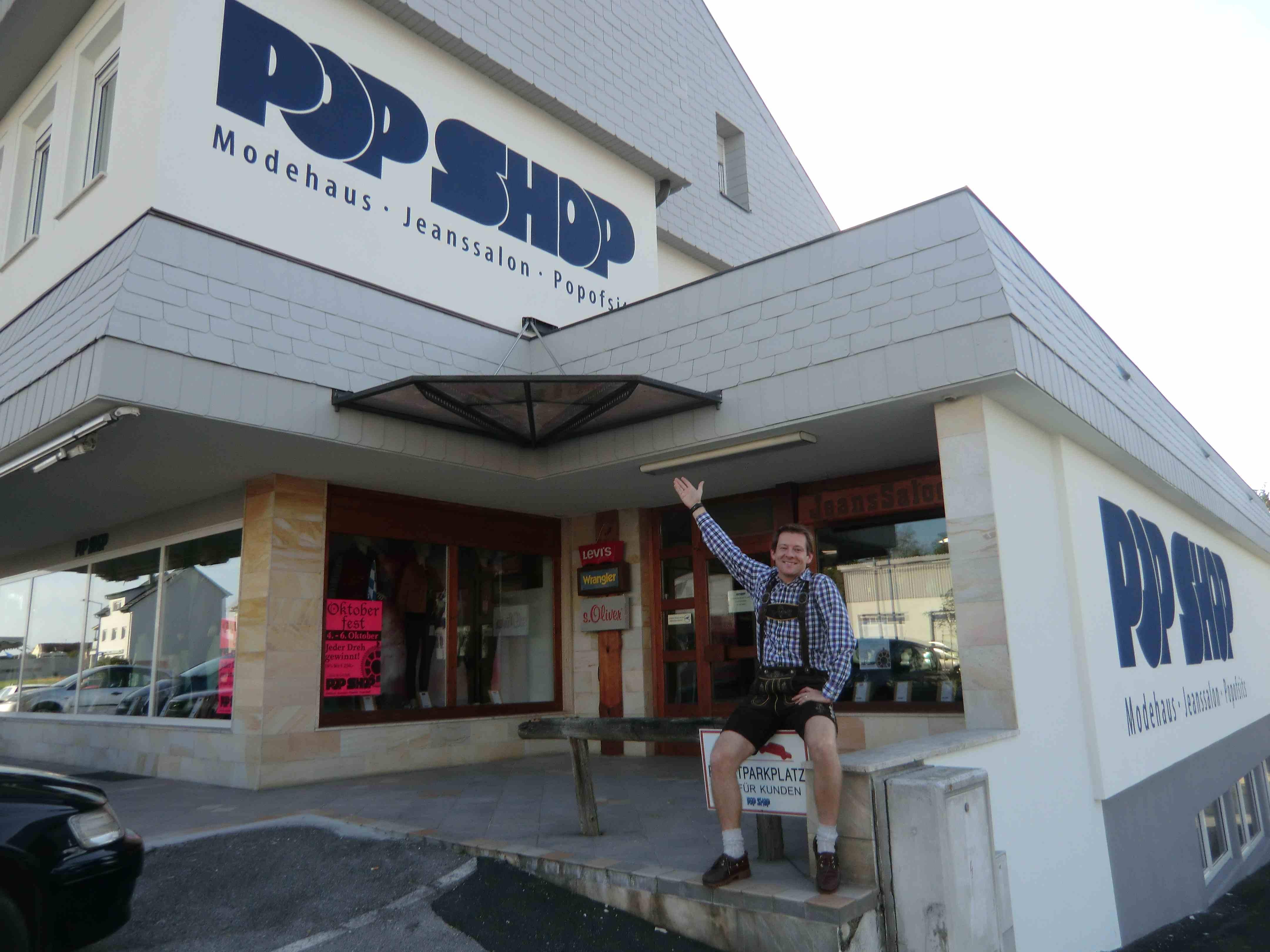 Popshop Eingang